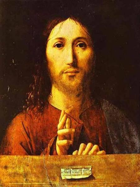 christ blessing 1465 XX national gallery london uk